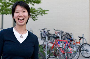 UTSC Bikeshare founder Jenika Wong is excited about the two new bike routes planned, but admits that cycling in the suburbs presents challenges not found downtown.