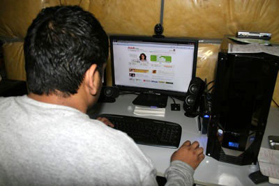 Online matrimonial websites, such as shaadi.com, are increasingly becoming popular with South Asians.