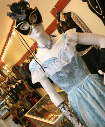 Tribal Rhythm, a vintage store on Queen Street, is filled with items from different eras.
