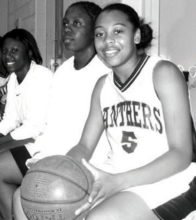 Rookie point guard Shanice McKoy does not think any local team could beat her PJPII Panthers.