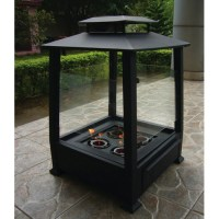 Paramount Pagoda Gel Fuel Outdoor Fireplace (PF
