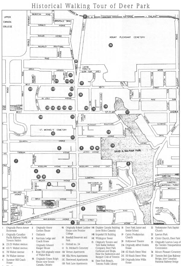 Historical Walking Tour of Deer Park : Local History