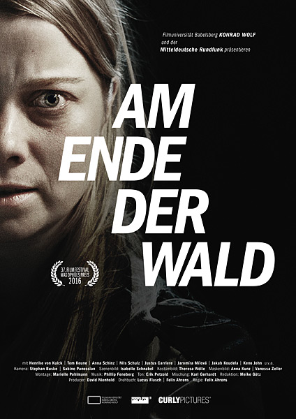 Am Ende der Wald (Where the Woods End) - Poster