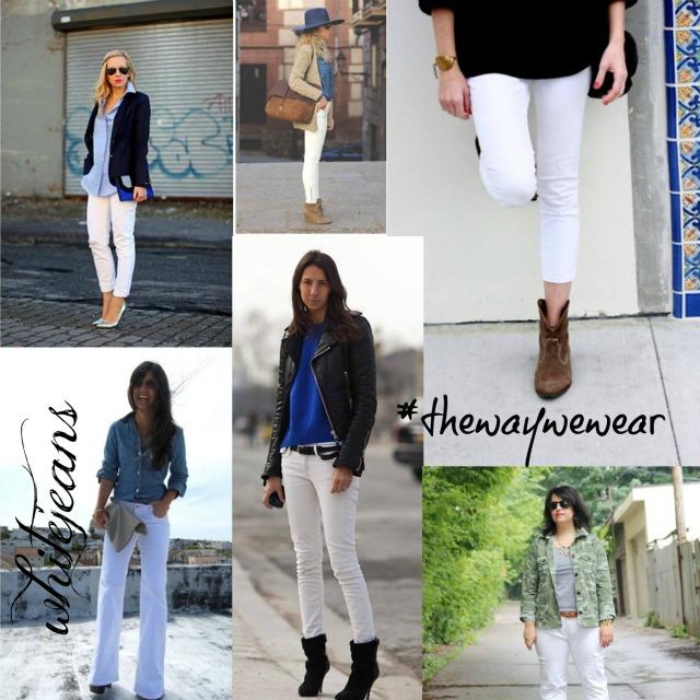 #thewaywewear white jeans
