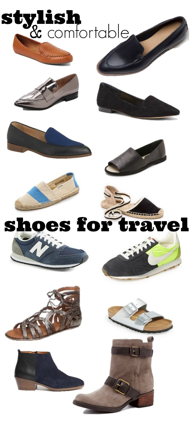 stylish comfortable shoes for travel chic everywhere