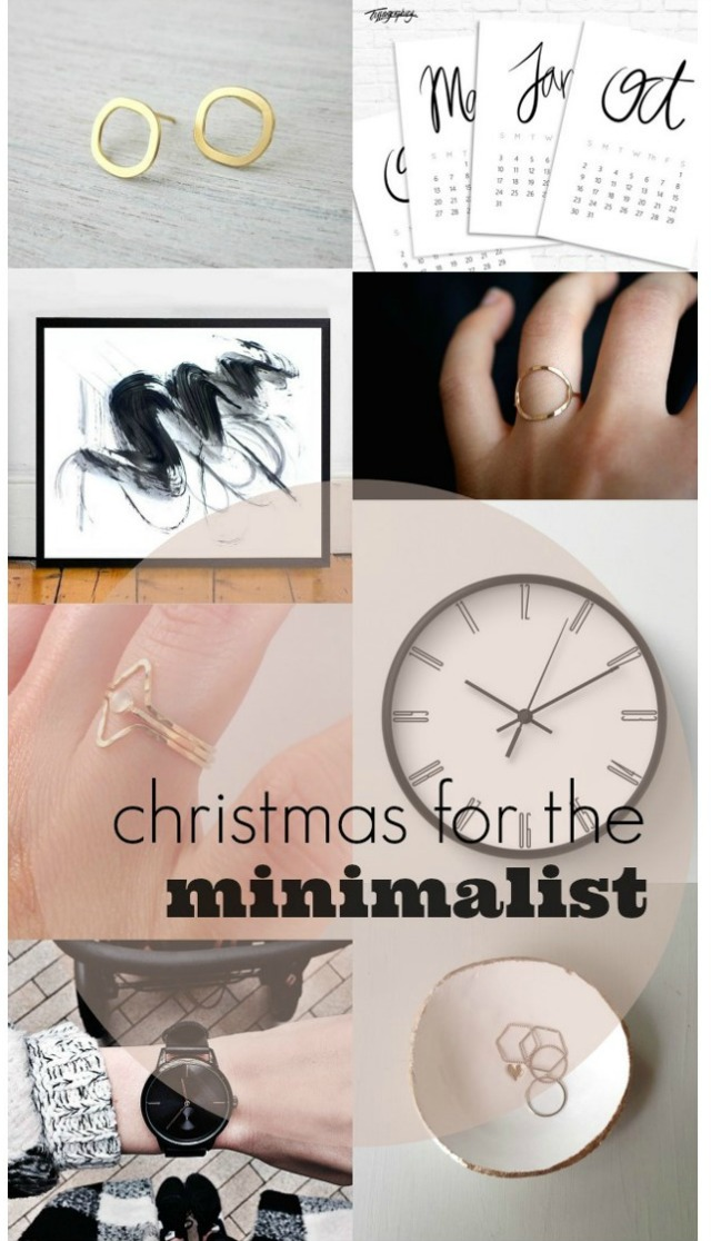 christmas gift guide for the minimalist