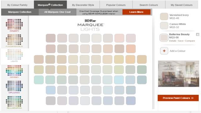 behr colour app