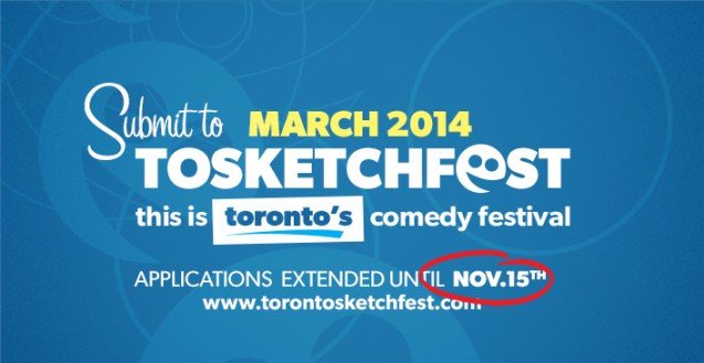 2014 Submissions Extended to November 15th