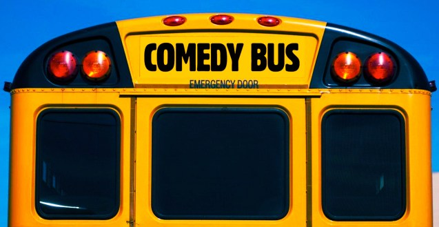 TOsketchfest Comedy Bus