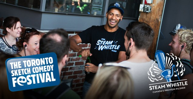 Laughs and Suds – The Steam Whistle Sketchfest Package