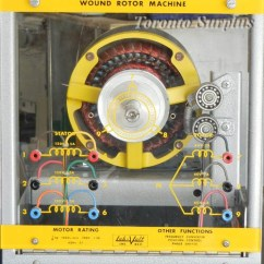 Three Phase Induction Motor Diagram Apollo Xp95 Addressable Smoke Detector Wiring Lab-volt / Labvolt 8231 Wound Rotor Machine Frequency Converter Position Control ...