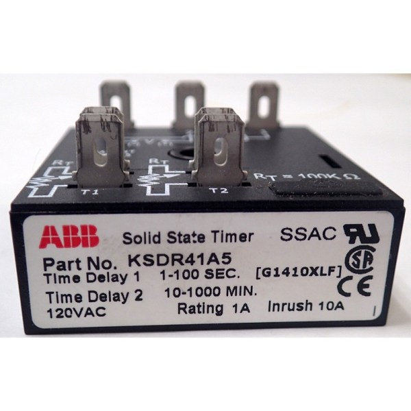 Abb Ksdr41a 5 Ksdr Series Solid State Timer Time Relay