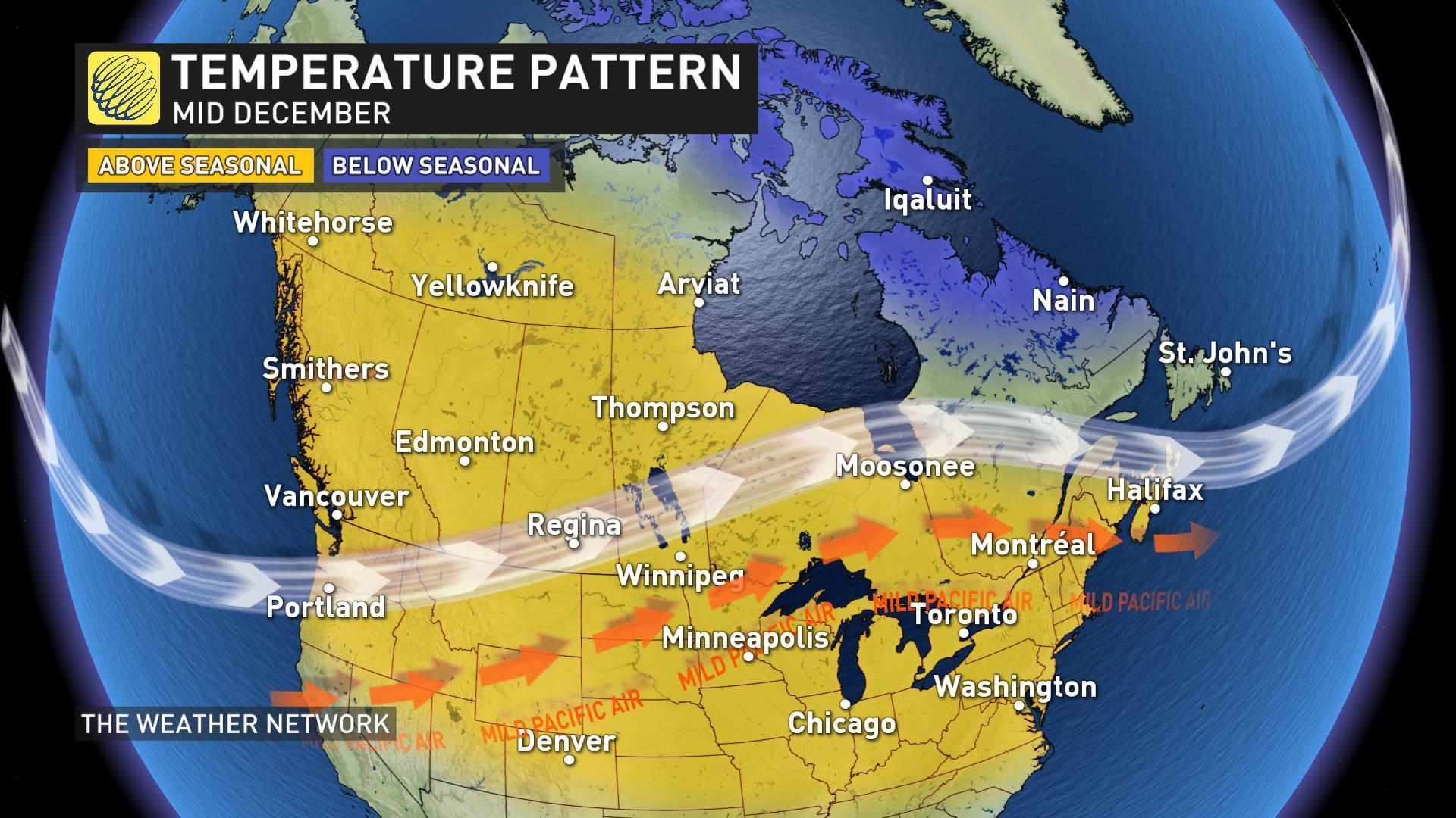 【12月12至18日多倫多天氣】回暖前之冰雨威脅 - Toronto What's UP