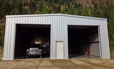 Straight Walled Steel Garage Kits Engineered Easy To Build Toro