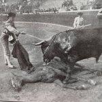 El mexicano Lombardini descabellando un novillo en Bilbao