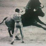 """Andrés Vázquez y """"Baratero"""" de Victorino Martín."""
