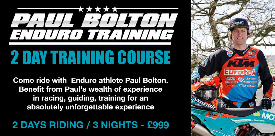 Come ride with Enduro athlete Paul Bolton.