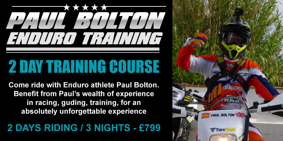 Paul Bolton Enduro training course