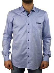 Firenze oxford σιέλ πουκάμισο 016 5903