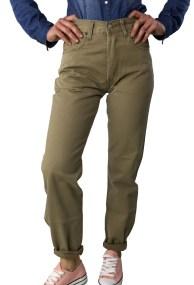 Levis μπεζ σκούρο υφασμάτινο παντελόνι 4518722