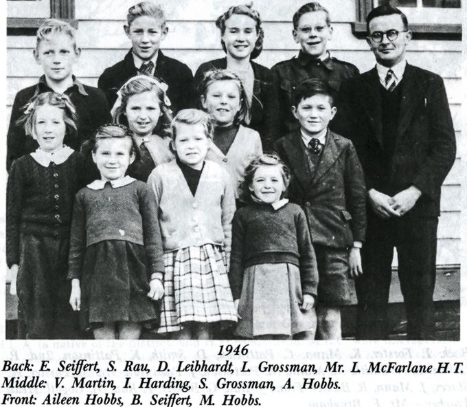 Freshwater Creek School class 1946