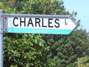 Charles Lane Sign