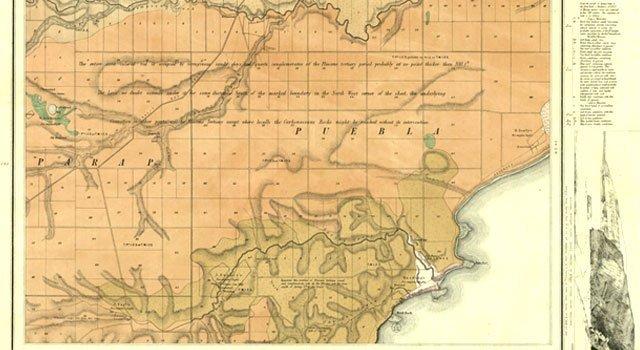 Puebla Geographic Map