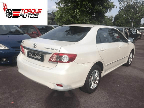 new corolla altis on road price toyota yaris trd specs japanese used 2012 for sale