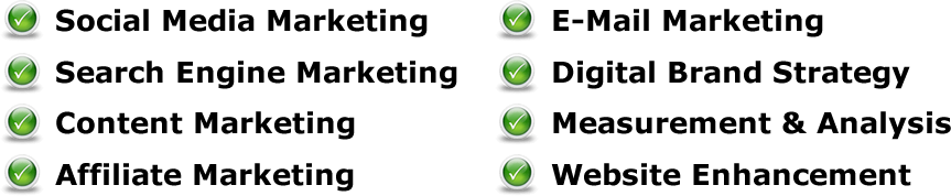 Marketing Services Provided