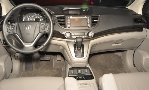 The Dash Of The 2012 Honda Cr V Ex L Torque News