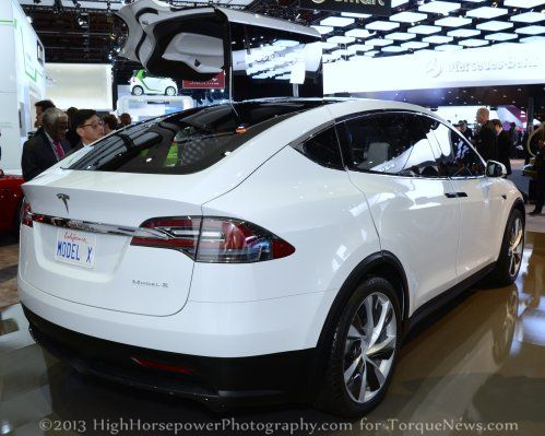 The Rear End Of The Tesla Model X Torque News