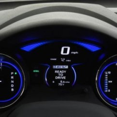 Brand New Camry Hybrid Harga Grand Avanza Surabaya The Gauge Cluster Of Honda Ev Concept | Torque News