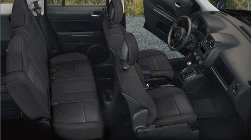The Interior Of The 2012 Jeep Compass Latitude 4x4