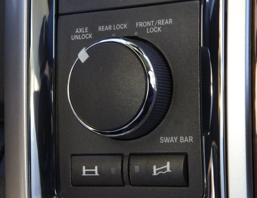 The electronic differential controls of the 2012 Ram 2500