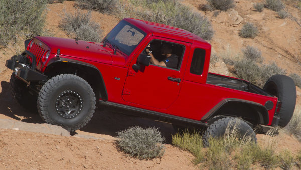 Jeep Wrangler Extended Cab