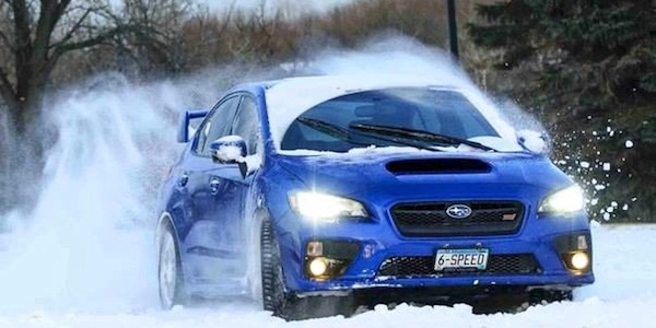 Rally Car Wallpaper Snow Subaru Wrx Sti Gets Residual Value Award For 5th Time In 8