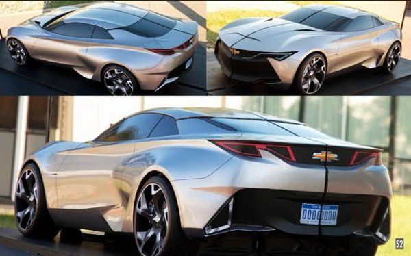 Chevy Camaro Concept Car