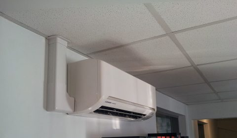 Lindum packaging multi split air conditioning installed by Torr Engineering - Grimsby.