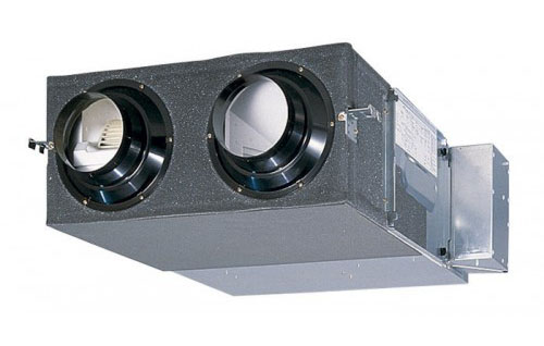 The Foss Dyke Brass Band room ventilation system - a Mitsubishi SAF1000E7.