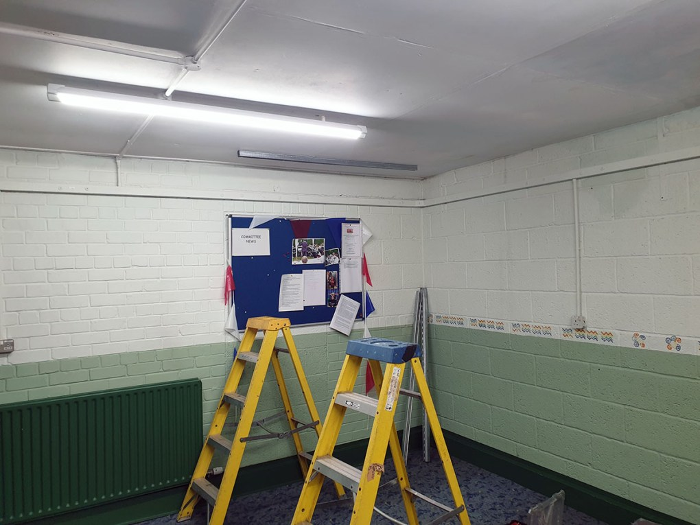 Prior to fitting the ventilation unit
