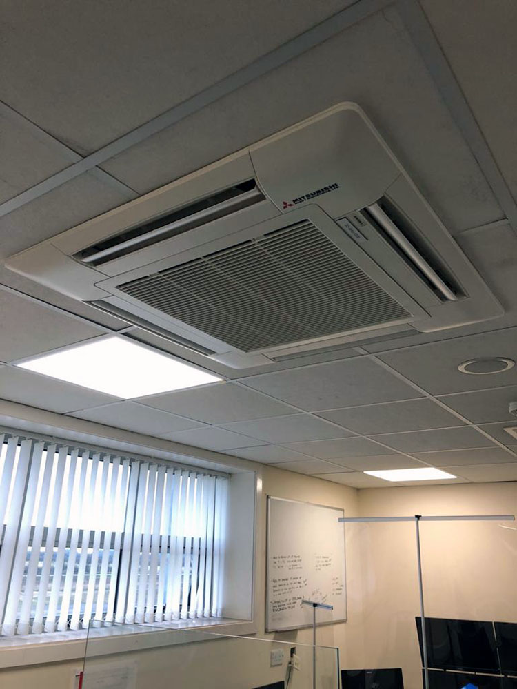 Ceiling Cassette air conditioning system