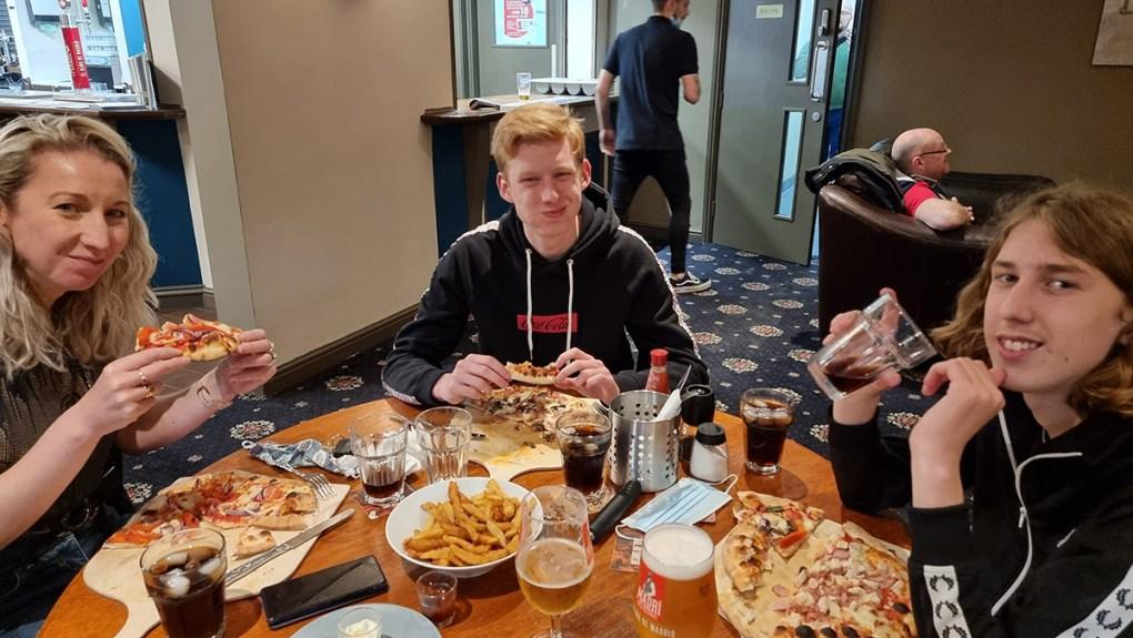 Wilton Fields pizza