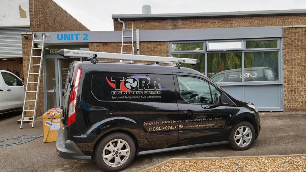 Cars of Grimsby - Torr Engineering Van