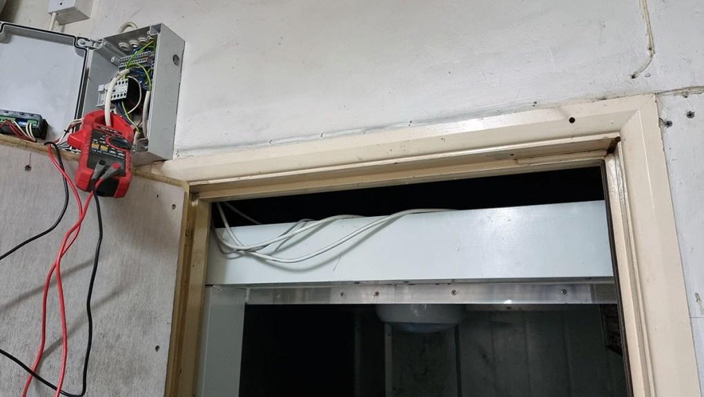 Crosskills Florist - Flower Storage Cold Room - Old Controller