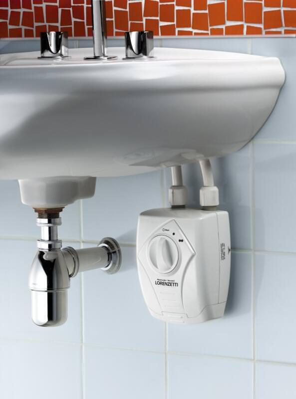 Lorenzetti Undersink Versatile heater 3T below a sink