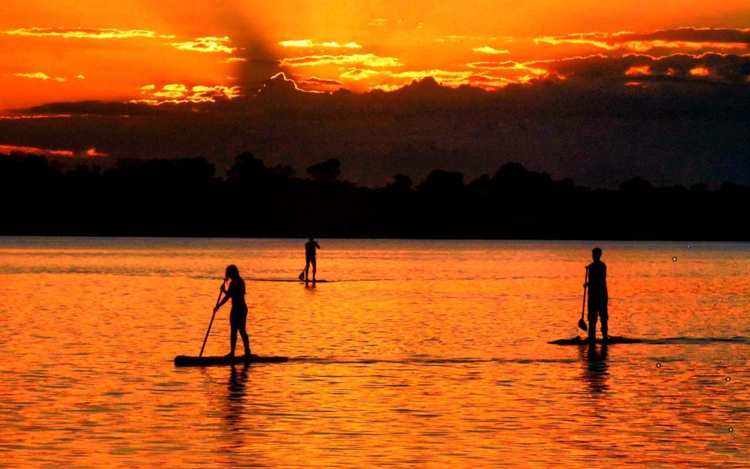 Stand Up Paddle no rio Tocantins é nova experiência em Carolina