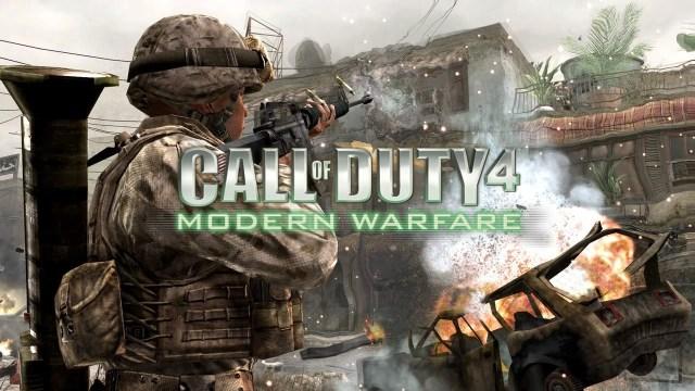 Resultado de imagem para Call of Duty 4 Modern Warfare