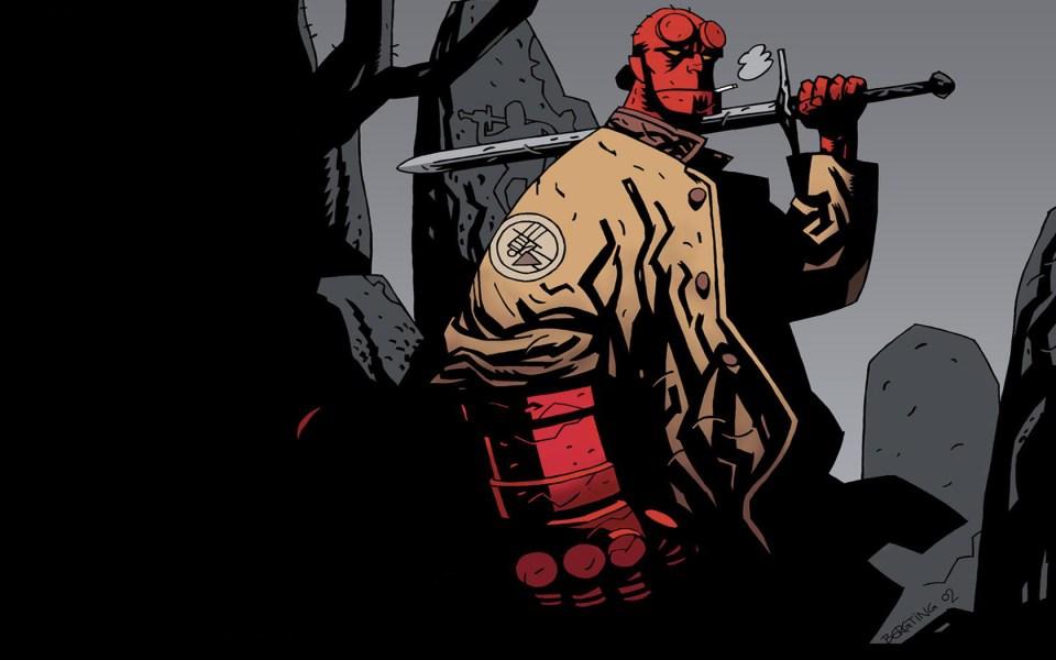 Resultado de imagem para Hellboy hq