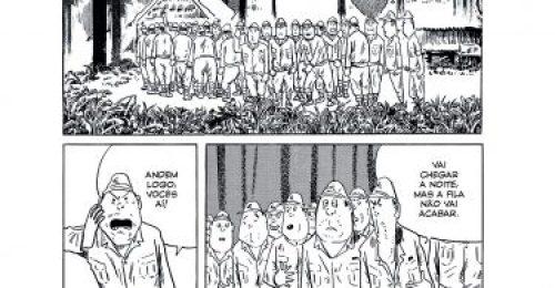 Resultado de imagem para marcha para morte shigeru mizuki image