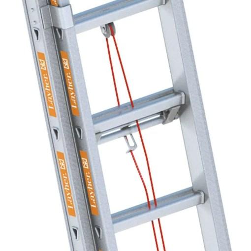 Detalle de la escalera extensible TOPIC 1037